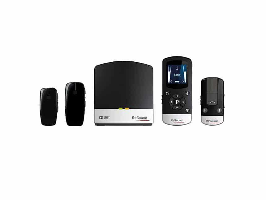 A lineup of different wireless accessories